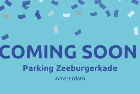Coming soon: Parking Zeeburgerkade